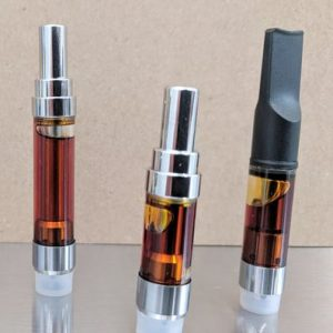 High THC Cannabis Oil Cartridges