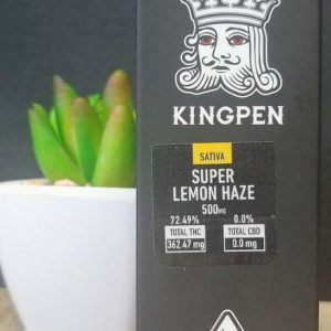 Kingpen Super lemon Haze Vape Cartridges