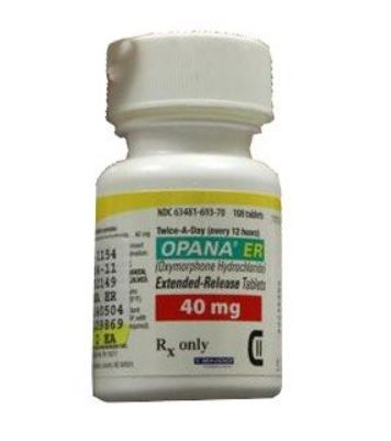 Opana (Oxymorphone) ER 40mg Online
